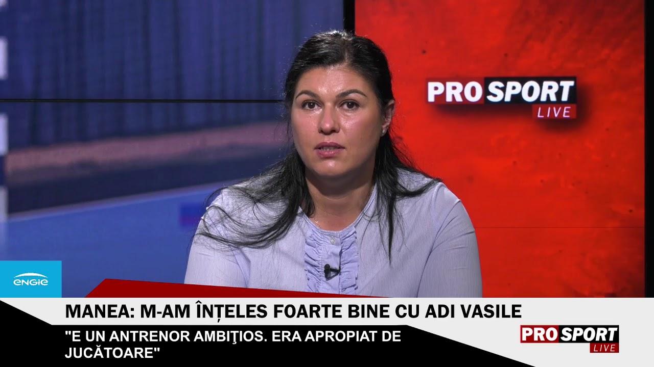 ProSport LIVE ? Ediție specială la pauza meciului CSM București - Krim. Oana Manea este invitată
