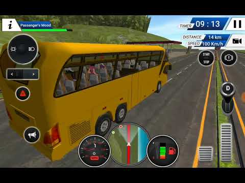 Bus simulator  mod apk hacked full trick  best game review