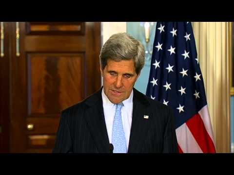 Secretary Kerry Delivers Remarks With UK Foreign Secretary Hague