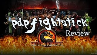 PDP mortal Kombat 9 Fight Stick for xbox 360