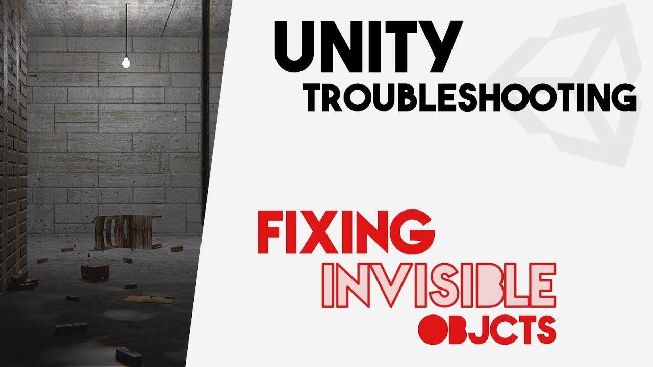 Fixing Invisible objects in-game / missing face meshes || Blender to Unity  Troubleshooting Tutorial