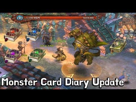 [TOS] Monster Card Diary Update / 몬스터 카드첩 업데이트