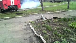 В Дебальцево обезвреживают снаряд от «Урагана»