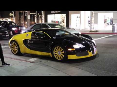 Super cars in Beverly Hills Day 1