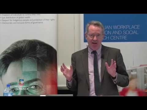 Professor Peter Whiteford: The Age of Disentitlement - Presentation