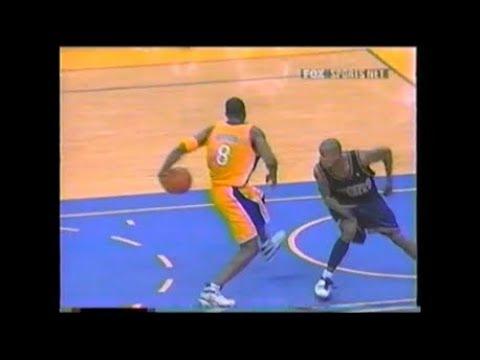 Kobe Bryant Around the Back Reverse Dunk