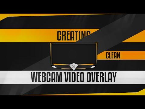 Photoshop Tutorial: Creating Clean Webcam Video Overlays