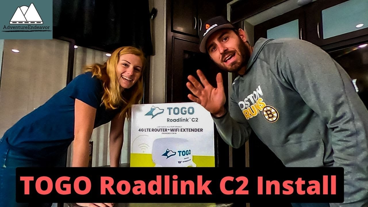 Download TOGO Roadlink C2 Router Install & Setup || RV Living || Unlimited AT&T Data Plan