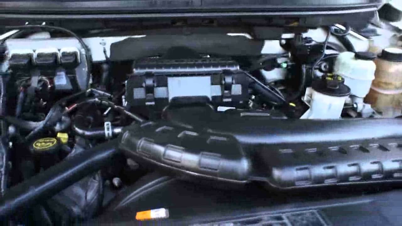 F King Ranch Clean Engine Bay