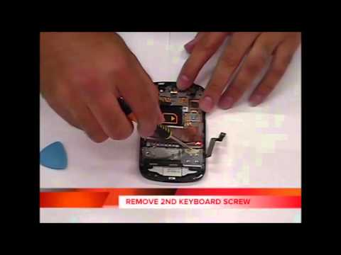 How to replace Blackberry Q10 LCD Screen Replacement and Keyboard Complete Walkthrough Instructions