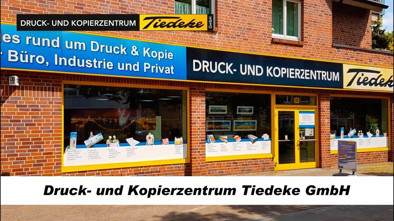 Drucken In Hamburg Wir Drucken Für Sie Www Tiedeke De