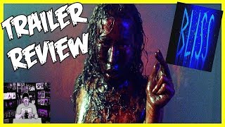 BLISS (2019) Vampire Horror Movie Trailer review - Back to Gory Greatness!!