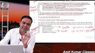 Deduction u/s 33AB || AMIT KUMAR CLASSES||