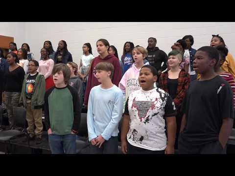 Music Mondays- Churchland Middle School 7th Grade Chorus