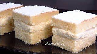 Белоснежный Торт КИНДЕР ПАРАДИЗО для праздничного стола ВЫПЕЧКА на НОВЫЙ ГОД 2019