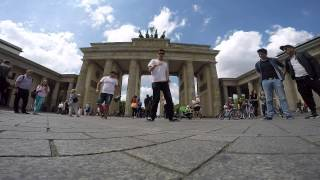D-Lusion Popping Freestyle - Brandenburger Tor