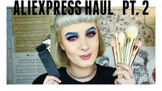 Part 2 out of 3 AliExpress Haul! // Makeup Brushes  |  Gabi Bailey