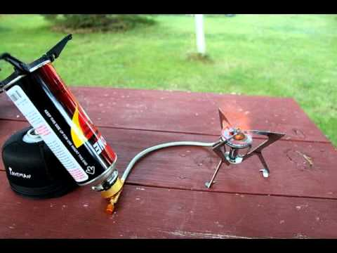 Outdoor Camping Mini Portable Gas Stove Youtube