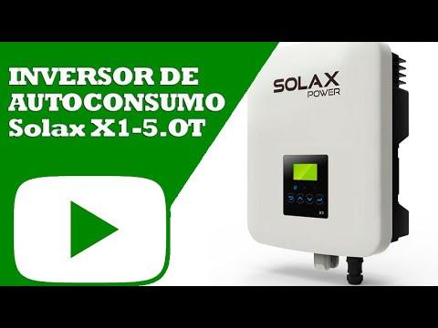Inversor de autoconsumo Solax X1-5 0T