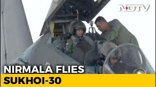 Video Defence Minister Nirmala Sitharaman undertakes sortie in Sukhoi 30 MKI download MP3, 3GP, MP4, WEBM, AVI, FLV Juli 2018