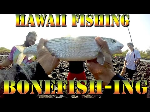 Fishing for Bonefish (Oio) in Hawaii - Bonefish, Snapper, and Hawaii Fish  - Braddahs On Da Shore 24