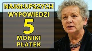5 najgłupszych wypowiedzi profesor Moniki Płatek.