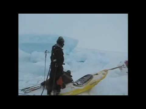 Stoup Pulling Sled Artic Ocean Baffin NP 2008 II