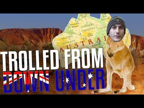 Australian Pro Trolled me!