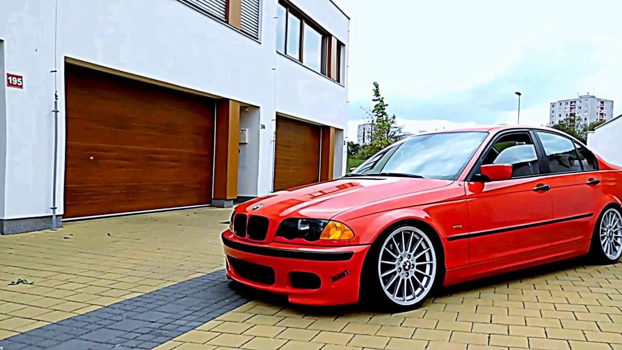 Stanced Bmw E46 Redbitch By Swob Youtube