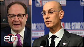 Woj reacts to NBA's plan to finish the 2019-20 season by October 12 | SportsCenter