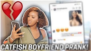 CATFISHING my Boyfriend to see if he cheats..(YOU WON'T BELIVE THIS)💔