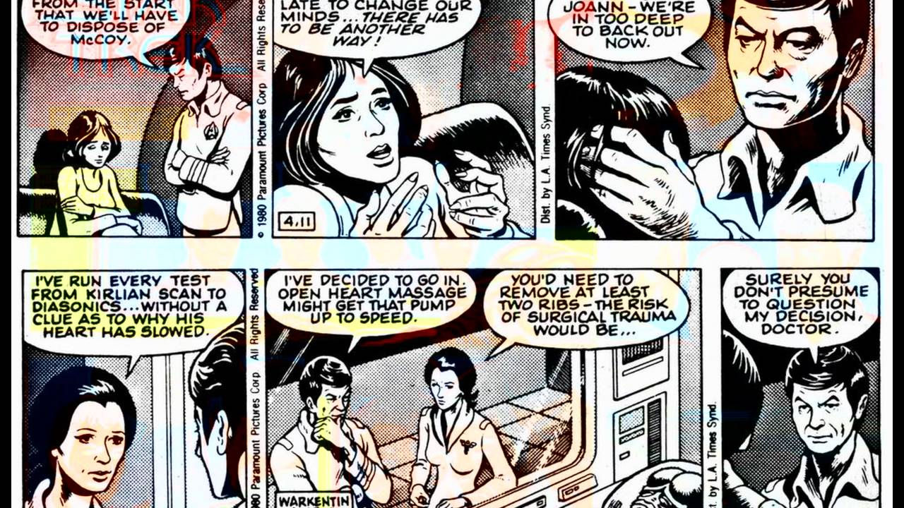 Star Trek ~ Newspaper Strips 03 ~ The Real McCoy #comics - YouTube