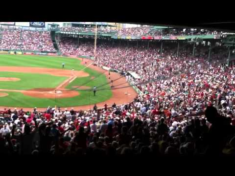 Sweet Caroline performed by Red Sox Nation at Fenway Park