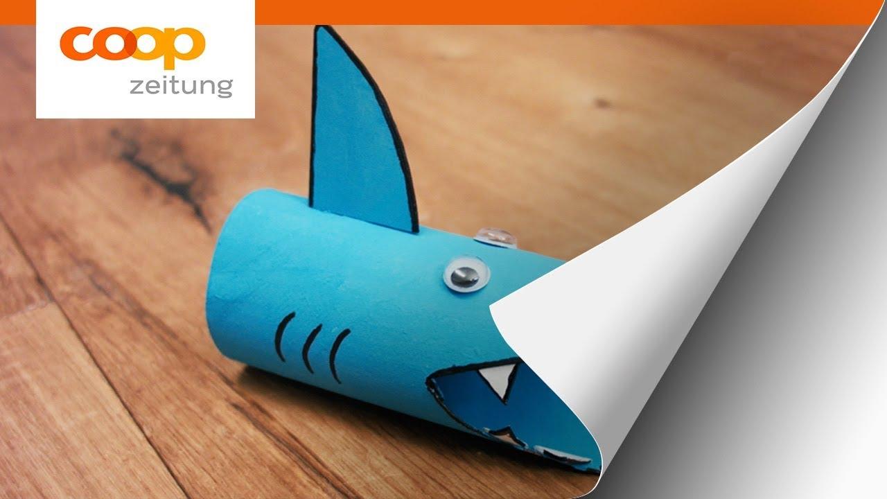 Kindergeburtstag So Bastelt Ihr Eine Hai