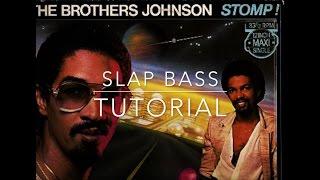 Stomp - Brothers Johnson - Slap bass lesson