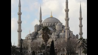Blues Mosque  Istanbul . Call of the  Muezzin