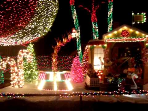 Christmas lights near Pompano Beach Florida