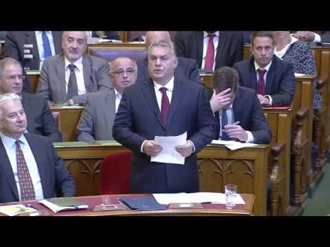 Orbán Viktor viszontválasza - ECHO TV