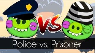 bad piggies police vs prisoner field of dreams