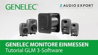 Einmessung mit GLM 3 – Genelec Lautsprecher kalibrieren
