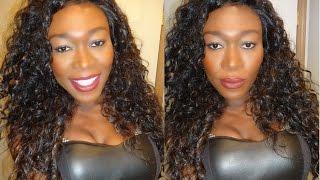 C'est Une Perruque Lace Front Perruque – HH Brésilien Curl ~DIVATRESS.com~