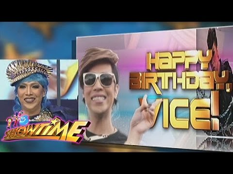 It's Showtime: Happy birthday, Vice Ganda!