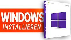 Windows 10 installieren 2020!! - mit USB, Key + Einrichten, Treibern