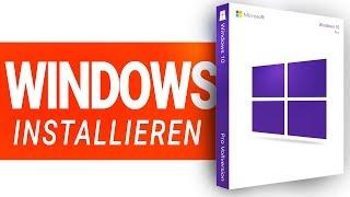 Windows 10 installieren 2019!! - mit USB, Key + Einrichten, Treibern
