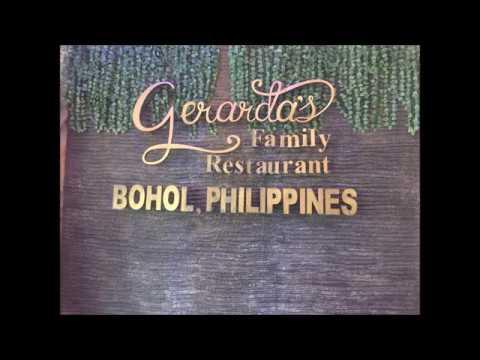 Dancing Waiters and Waitresses at Gerarda's Restaurant Bohol