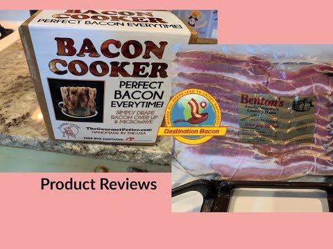 Gourmet Potter Bacon Cooker & Benton's Bacon Reviews