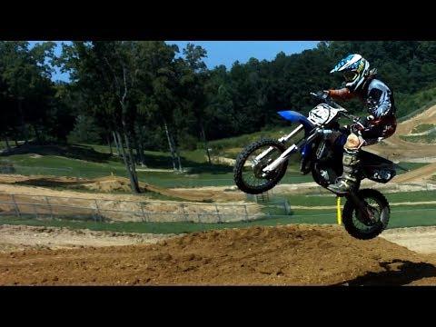 Yamaha YZ85 Racer Big Air Big Crash