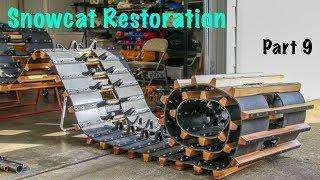 Frandee Sno Shu Model E Snowcat Restoration Part 9
