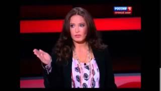 Ирина Бережная разорвала Ковтуна за ветеранов (19.04.15)