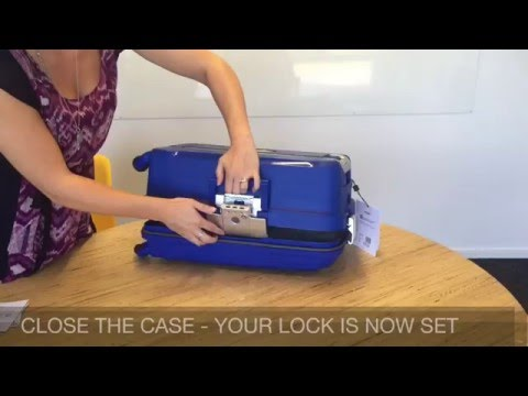 How To Set A DELSEY Belfort Lock
